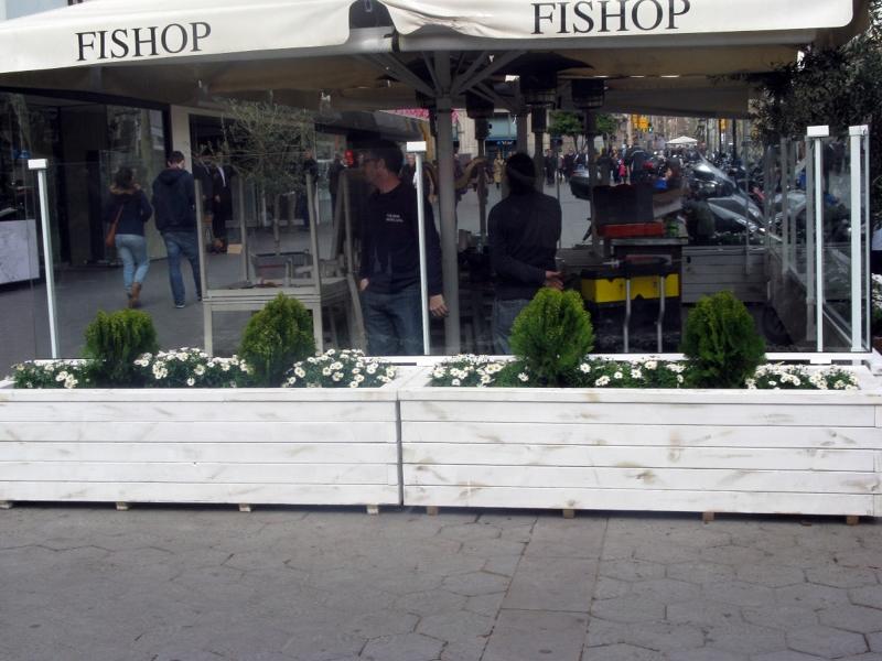 Foto Diseño Terraza Restaurante Fishop De Vecologic 411495