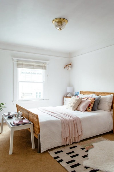 Foto dormitorio con cabecero d emimbre 1475531 habitissimo - Cabecero con fotos ...
