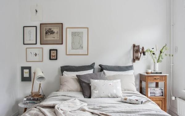 Foto Dormitorio Con Cuadros De Elenatorrente Diaz 1019159 - Cuadros-dormitorios