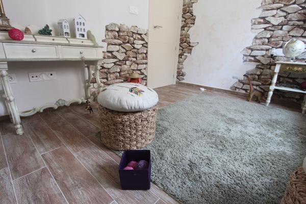 Foto dormitorio infantil papel pintado de mh11arquitectos - Dormitorios infantiles granada ...