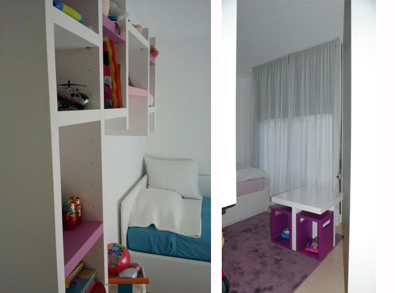 Foto dormitorio infantil de estudio 2 interiorismo - Dormitorios infantiles malaga ...
