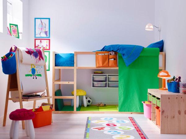 Foto Dormitorio De Ninos Con Cajas De Ikea De Marta 1021284