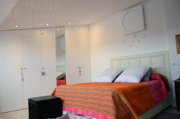 Foto dormitorio principal con armarios empotrados - Dormitorios con armarios empotrados ...