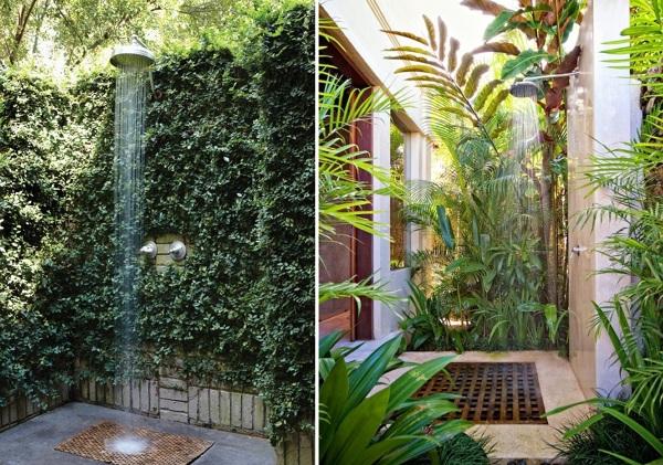 Foto duchas exteriores de miriam mart 878647 habitissimo - Duchas para piscinas exterior ...