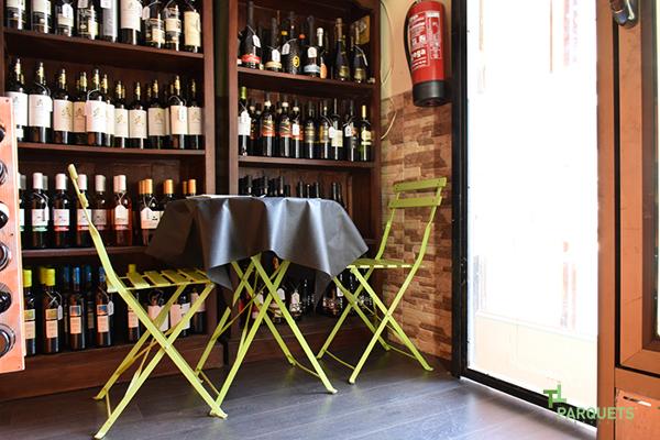 Foto entrada restaurante de parquets tropicales 1149568 - Parquets tropicales ...