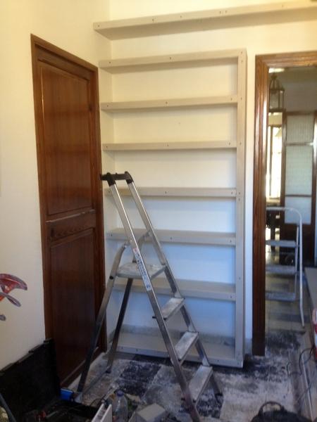 Foto estanter a pladur de mihail condurache 309170 - Estanterias pladur precio ...