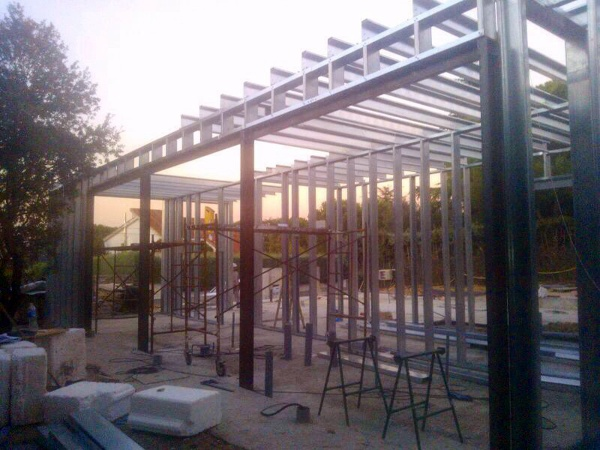 Foto estructura acero galvanizado de acero modular s l - Acero modular precios ...