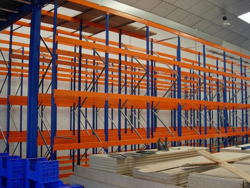 Foto estructura estanteria especialmente dise ada para - Estanterias de pvc ...