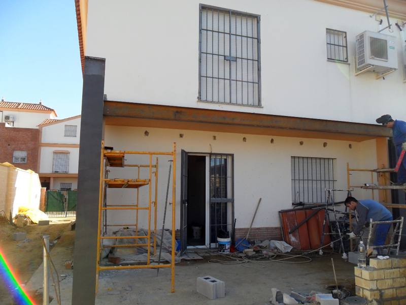 Foto estructura met lica para ampliaci n de vivienda de - Estructuras metalicas para casas ...