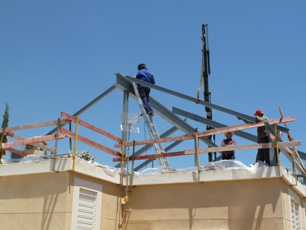 Foto estructura metalica trabajos de mg2 construcciones y - Imagenes de estructuras de casas ...