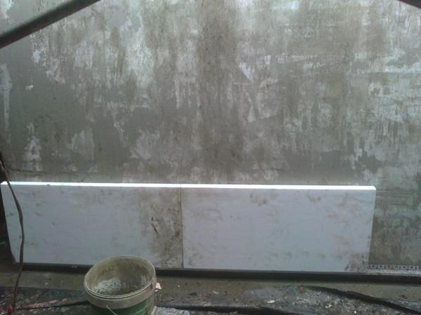 Impermeabilización de una  fachada en A Coruña