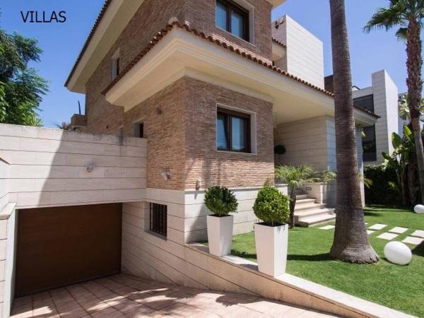Foto fachada casa carmelo en campo de golf de alicante de estudio arquitectura canogarcia - Casas de campo en alicante ...