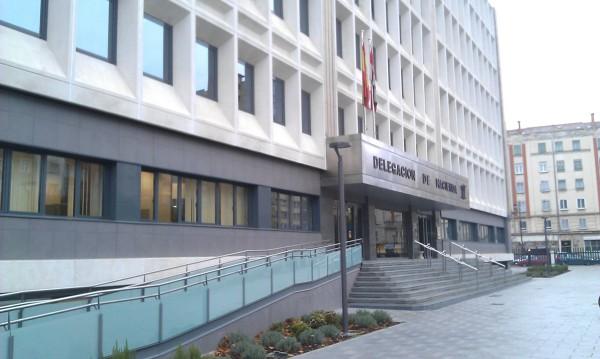 Foto fachada edificio hacienda burgos de gyrcons edificaci n y obra civil 729220 habitissimo - Oficinas hacienda barcelona ...