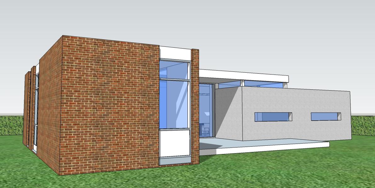 Foto fachada posterior de atelierbas arquitectura y - Empresas de fachadas ...