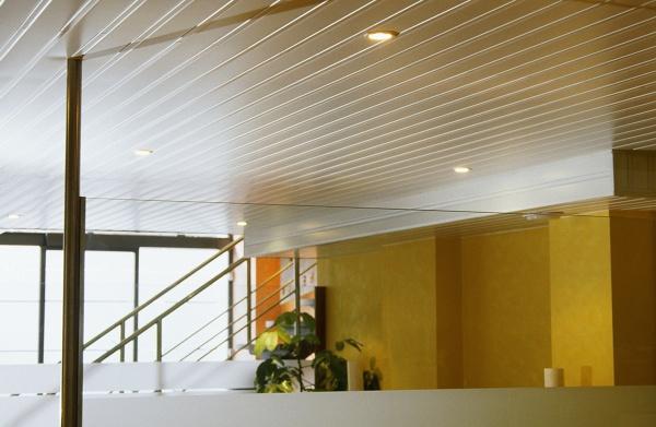 Foto falso techo aluminio de mifor reformas y obras - Falso techo aluminio ...