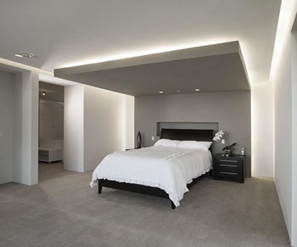 Falso techo rectangular