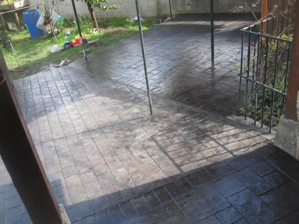 Foto hormig n impreso de pavimentos y pulidos gorbelan s l u 939338 habitissimo - Hormigon impreso badajoz ...