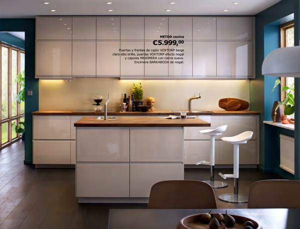 Foto ikea muebles en la cocina 1527871 habitissimo for Cocinas ikea fotos