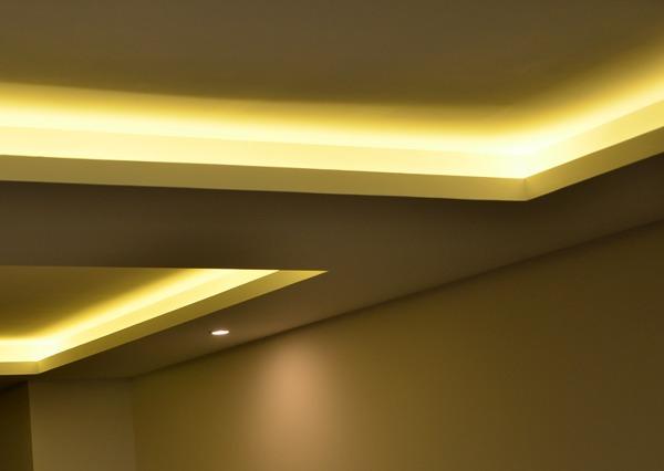 Foto iluminaci n indirecta falso techo de mirmen - Iluminacion falso techo ...
