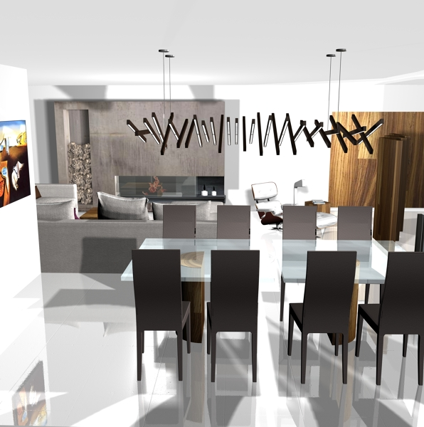 Foto: Imagen del Interiorismo Vivienda - Salón - Comedor de ...
