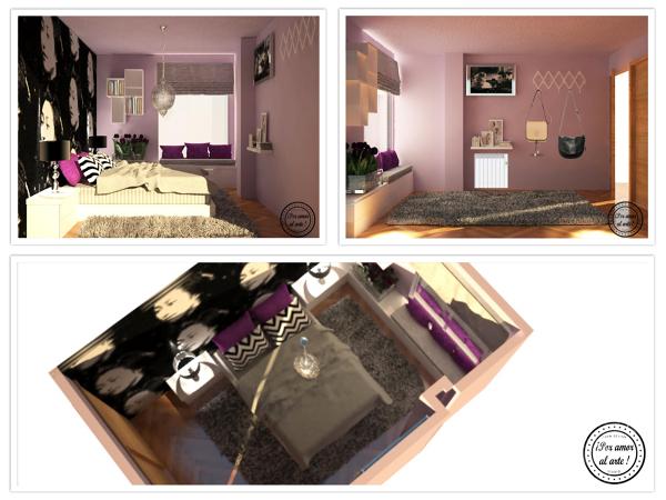 """Proyecto Hogar: Dormitorio """" Boho"""""""