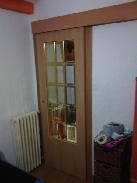 Foto instalaci n puerta corredera de zierzo cerrajeros - Instalacion puerta corredera ...