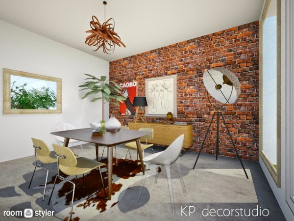 foto interiorismo salon vintage industrial de kpdecorstudio 682569 habitissimo. Black Bedroom Furniture Sets. Home Design Ideas