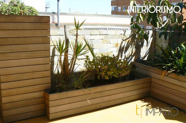 Foto jardinera en terraza valencia de impatto 1112421 - Jardineras para terrazas ...