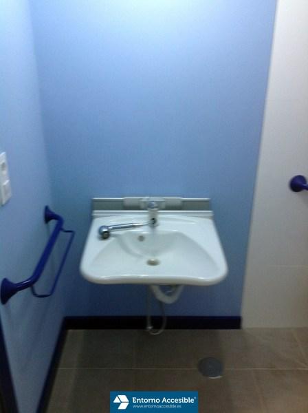Foto lavabo regulable en altura de entorno accesible sl - Altura de lavabo ...