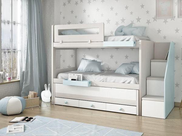 Foto litera 3 camas de noel de noel muebles 1885458 - Literas precios modelos ...