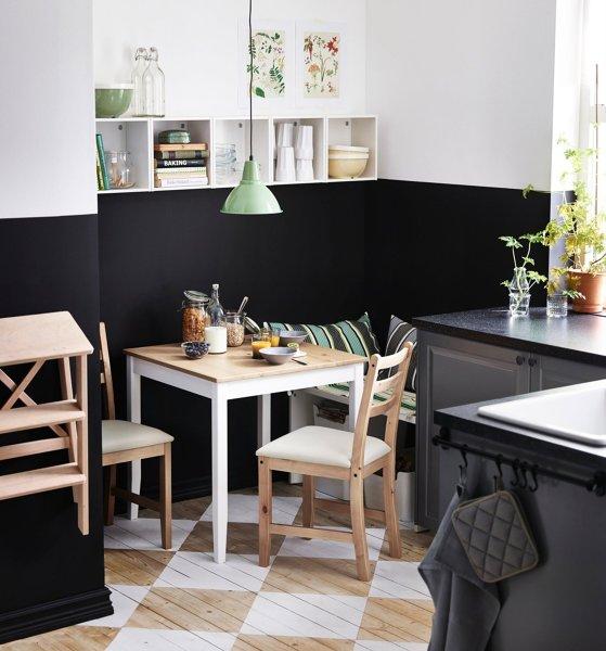 Foto mesa cuadrada en cocina de elenatorrente d az - Mesa cocina cuadrada ...