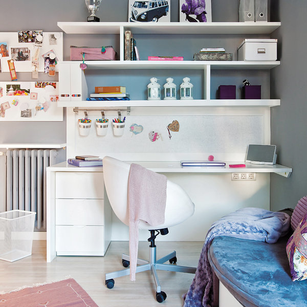 Foto mesa de estudio juvenil de marta 1234710 habitissimo - Mesa estudio juvenil ...