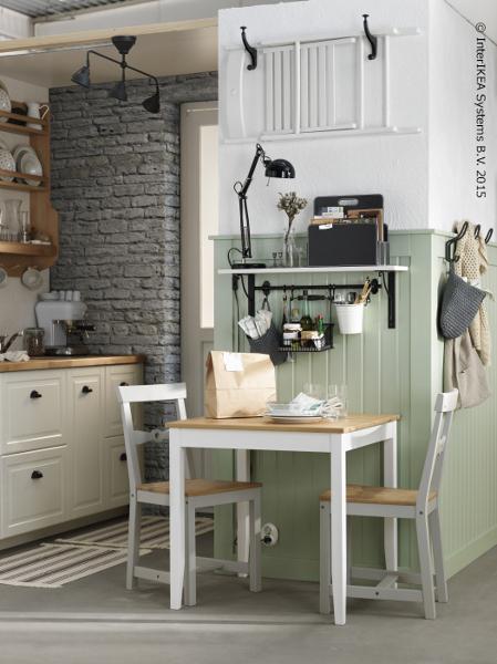 Foto mesa peque a para cocina ikea de miriam mart 929317 habitissimo - Mesa de cocina pequena ...