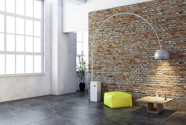 Foto suelo de cemento con pared de ladrillo 961255 for Cemento inyectado suelo