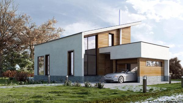 Foto mh140 casa de madera bioclim tica de mhelorza - Casas bioclimaticas prefabricadas ...