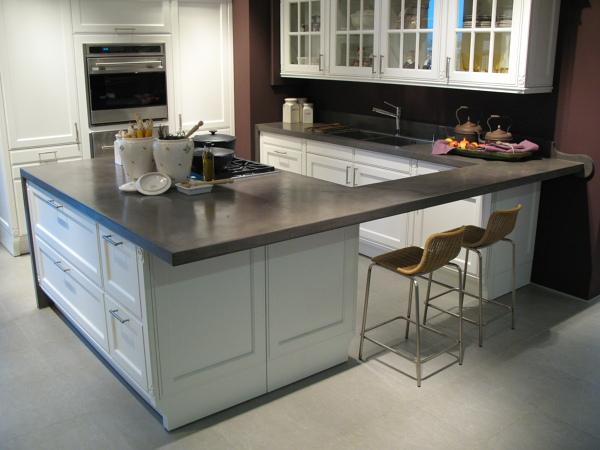 Foto microcemento encimera cocina de edfan europa s l 872769 habitissimo - Cocina microcemento ...