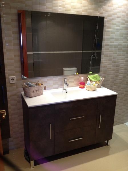Foto mueble de lavabo de 120 cm de arcos ve reformes i for Mueble lavabo 120 cm