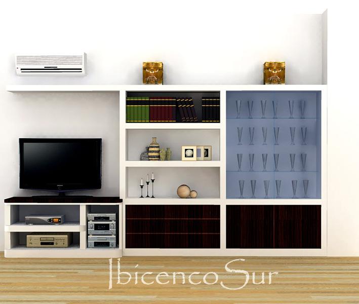 Foto mueble de salon de ibicencos cb 437054 habitissimo - Mueble salon minimalista ...