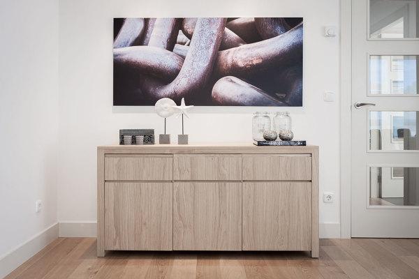 Foto: Mueble para la Vajilla en Roble Natural para el ...