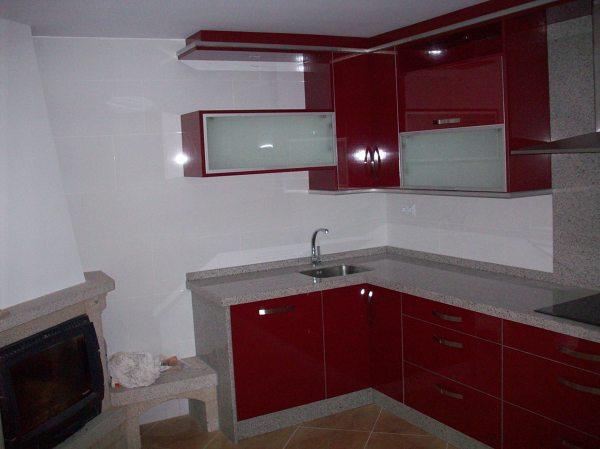 Foto muebles cocina en formica muebles brillo de for Muebles de formica para cocina