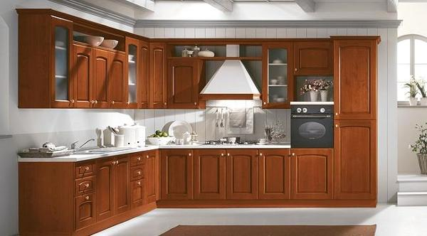 Foto muebles de cocina de madera 4 de nova 2000 1101017 for Modelos de cocinas de madera modernas