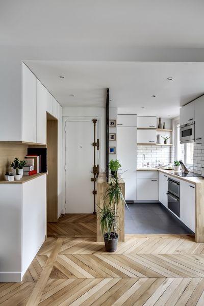 Foto muebles de obra en pasillo y hall de maribel - Muebles de pasillo ...