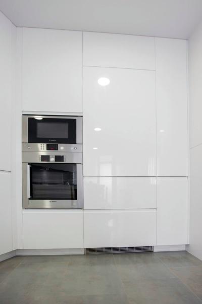 Foto: Muebles Lacados Blanco Brillo de Muebles De Cocina Lin #481164 ...