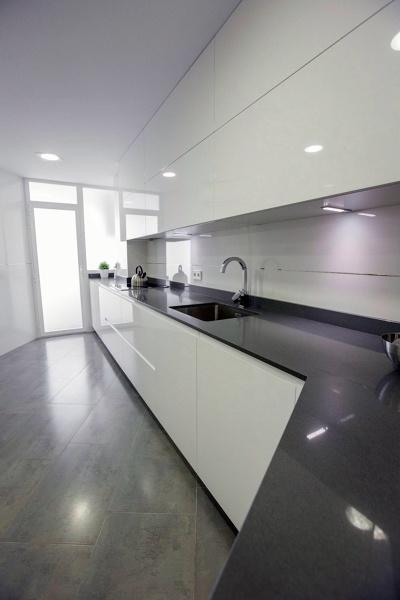 Foto: Muebles Lacados Blanco Brillo de Muebles De Cocina Lin #481165 ...