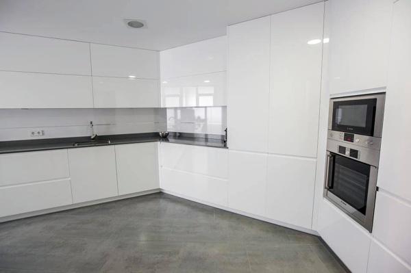 Foto: Muebles Lacados Blanco Brillo de Muebles De Cocina Lin #481172 ...