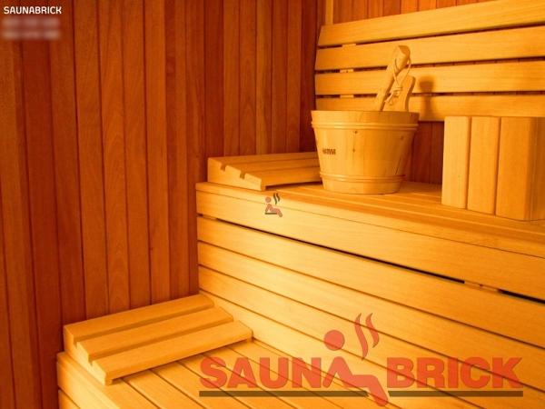 Foto nuestro producto estrella la sauna finlandesa de - Productos para sauna ...