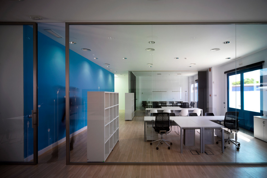 Foto oficinas complejo ideai sevilla de neuttro 137834 for Oficinas bankia sevilla