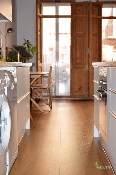 Foto otra vista de la cocina de parquets tropicales - Parquets tropicales ...