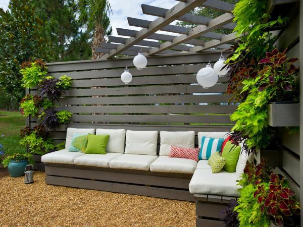 Foto palets jard n de elenatorrente d az 837081 for Ideas con palets para jardin