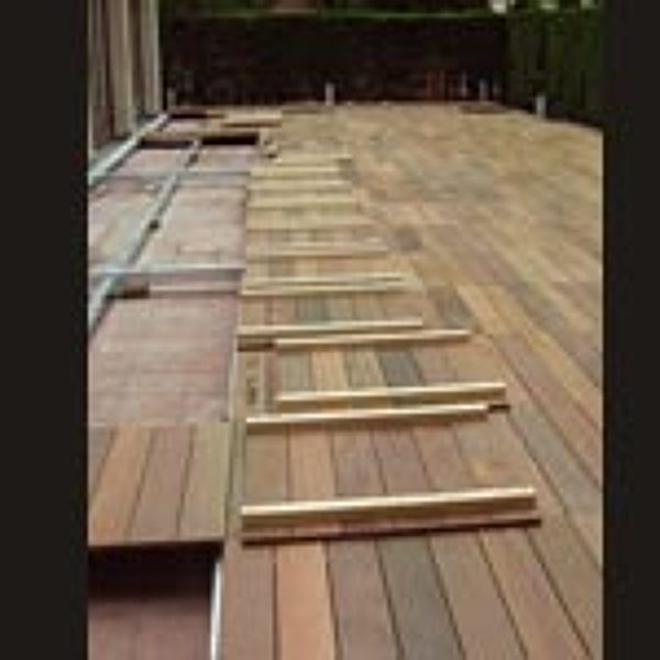 Foto paneles de madera sobre suelo terraza de julian reformas 825428 habitissimo - Suelo terraza madera ...
